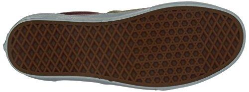 Vans U Era - Zapatillas de deporte Unisex adulto Multicolore (Khaki / Rot)