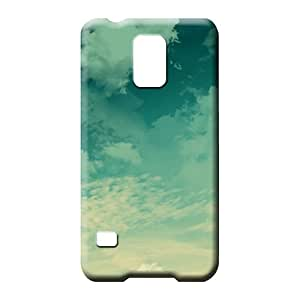 samsung galaxy s5 High PC Pretty phone Cases Covers phone cover shell sky blue air white cloud