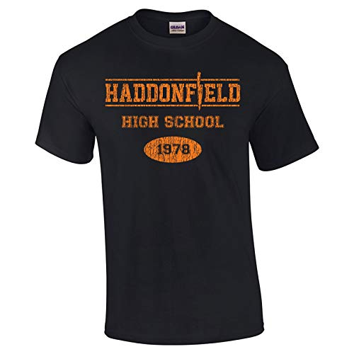 (Swaffy Tees 10 Haddonfield High School Funny Men's T Shirt)