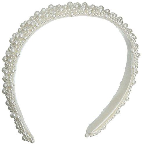 Darice V35231 01 Beaded Bridal Headband