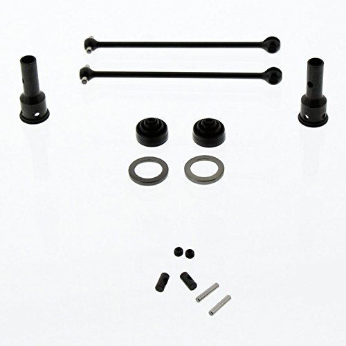 Team Losi 8IGHT 4.0 Buggy 1/8: Front/Rear DriveShafts/Dogbones, Axles & Boots (Team Losi 8ight Rear)