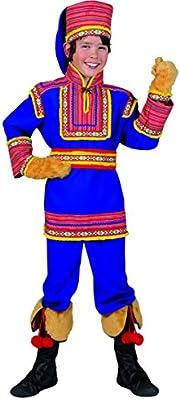 Disfraz ruso azul niño - 10-12 años: Amazon.es: Juguetes y juegos