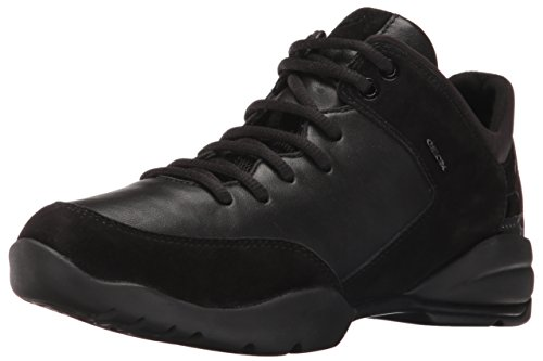 Geox Women's Wsfinge6 Fashion Sneaker, Black, 39 EU/9 M US