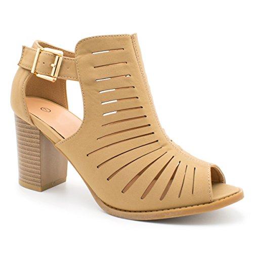 My+Delicious+Shoes+Women%27s+Shaky+Synthetic+Dress%2C+Women+Open+Toe+Strappy+High+Heel-+Nubuck%2C+TS+Palm-20+Tan+Size+10