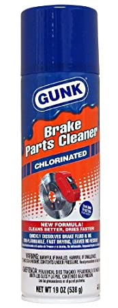 Gunk M720 Chlorinated Brake Parts Cleaner - 19 oz.