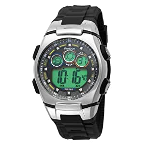 Armitron Sport Men's 408117BLK Chronograph Black Digital Watch
