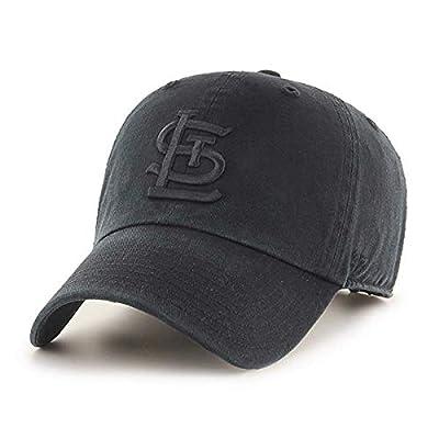 '47 Brand St. Louis Cardinals Clean Up Hat Cap All Black