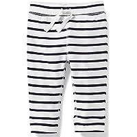 Calça Old Navy Menino Listrada Branco/Preto