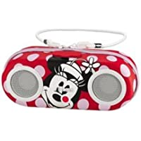 KIDDESIGNS Minnie Water Resistant Portable Stereo / EK-DM-M13 /