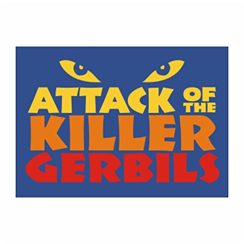 Attack of the killer Gerbil - Animals - Sticker Pack x4