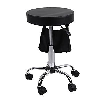 Tattoo Facial Massage Salon Barbers Furniture S15 Height Adjustable  Hydraulic Rolling Swivel Stool Chair