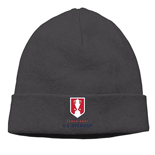 EWIED Men's&Women's U.S. Open Patch Beanie GolfBlack Caps For Autumn And Winter
