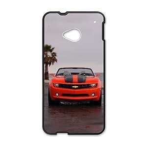 Chevrolet Camaro Car HTC One M7 Cell Phone Case Black TPU Phone Case SV_318860