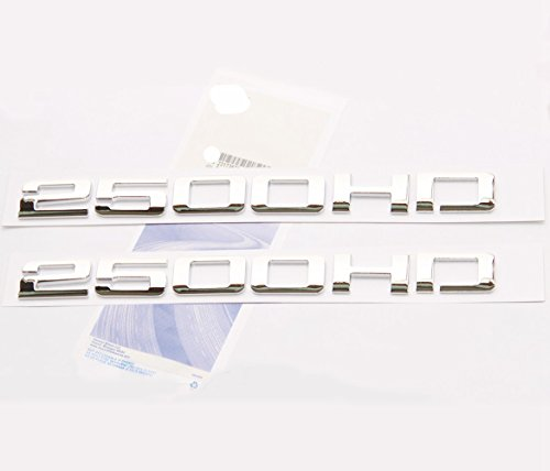 - Yoaoo® 2pcs OEM Chrome 2500HD 2500 HD Nameplates Emblems Alloy Badges for Gm Silverado Sierra