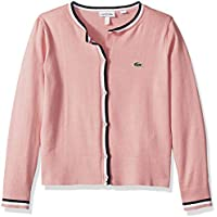 Lacoste Girl Cotton Wool Multico Stripes Cardigan,