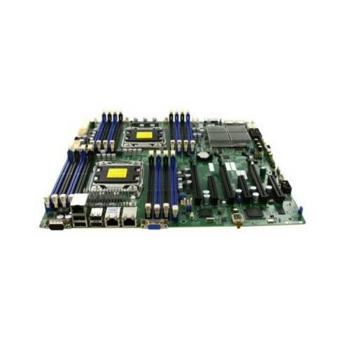 Supermicro MBD-X9DR3-F-O - Dual LGA2011 Intel C606 Chipset EATX Server Motherboard DDR3 PCIE3.0 SATA 6.0Gb/s Gigabit LAN (Motherboard C606)