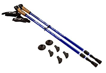 Keenfit BLUE 2-Piece Fitness Exercise Assisting Walking Poles