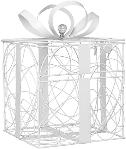 Simplicity White Metal Wedding Holder product image