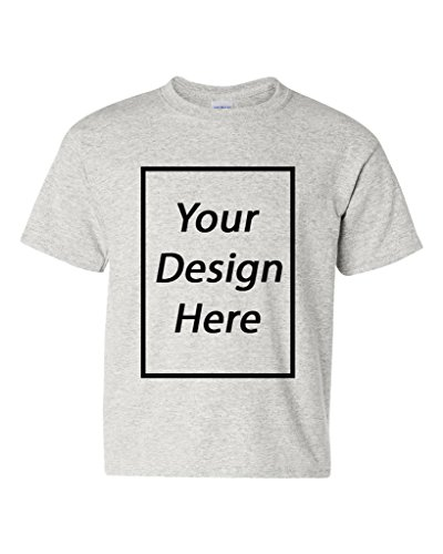Add Your Own Text Design Custom Personalized Youth Kids T-Shirt Tee