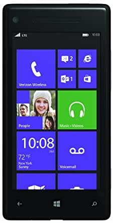 HTC 8X, Black 16GB (Verizon Wireless)