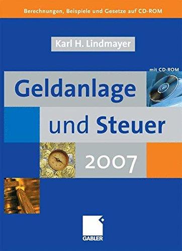Geldanlage und Steuer 2007