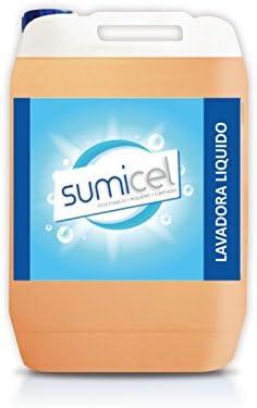 Detergente líquido concentrado para la lavadora. Apto para ropa ...