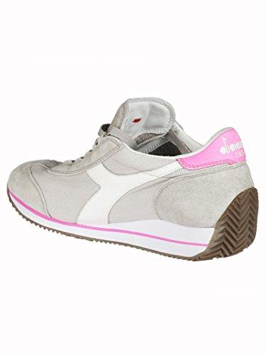 Adulto W Grigio Hh con rosa Equipe Sw Unisex Diadora Plataforma Sandalias bianco TWxpw1n