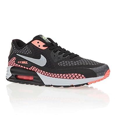more photos 93e52 ca5ec Nike Air Max Lunar90 Breeze, black-silver-hot lava-viper green, 12, 5:  Amazon.co.uk: Shoes & Bags