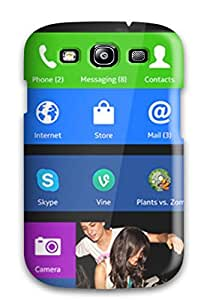 shameeza jamaludeen's Shop New Style 8874364K31081010 Fashion Protective Nokia Xl Desktop Background Case Cover For Galaxy S3