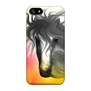 Ideal LastMemory Case Cover For Iphone 5/5s(mystic Horse), Protective Stylish Case