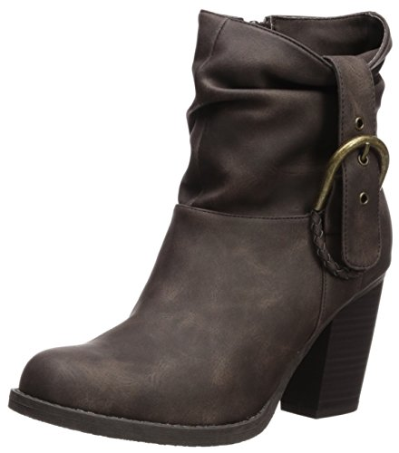 Sugar Women's Sgr-Prime Ankle Boot, Brown Nubick, 6.5 Medium - Glasses Boots Replacement