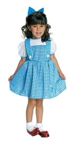 Wizard of Oz Dorothy Costume, Sky Blue / White, Toddler (Sizes 2-4 / Ages (Dorothy Wizard Of Oz Halloween Costume Toddler)