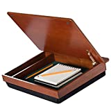 LapDesk Schoolhouse Wood LapDesk with storage