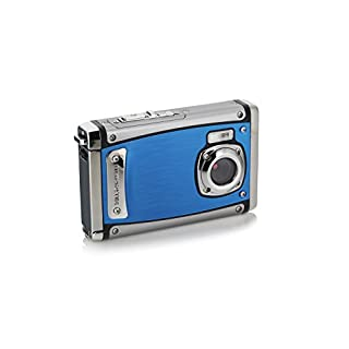 "Bell+Howell WP20-BL Splash3 20 Mega Pixels Waterproof Underwater Digital Camera with Full 1080p HD Video, 2.4"" LCD & 8X Digital Zoom, Blue"
