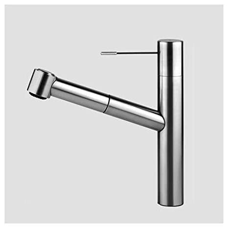 KWC Faucets 10.151.033.700 ONO Pull Out Kitchen Faucet, Steel