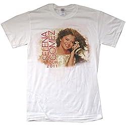 Selena Gomez Tour Loves Texas Shows 2011 Tour White T Shirt (L)