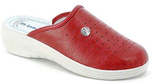 Pantofole Femme Sanitaire Inblu Mod. 40-33 Bordeaux