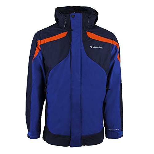 Columbia Men's Eager Air Interchange Jacket, Royal, X-Large