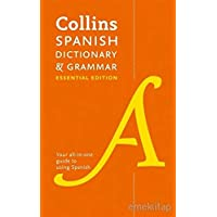 Collins Spanish Dictionary and Grammar Essential Edition: Two books in one (Collins Essential Editions)