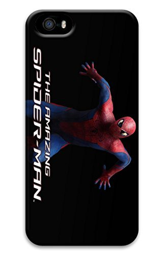 iPhone 5S Case, iPhone 5S Cases - Anti-Scratch Hard Case for iPhone 5/5s with The Amazing Spider Man Movie Print Design Protective Back Bumper Case for iPhone 5/5S