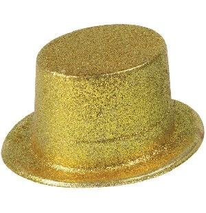 61e1a141bfd95 Glitter Hat  Topper (Gold)  Amazon.co.uk  Toys   Games