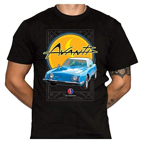 Studebaker Avanti T-Shirt - Standard Fit T-Shirt - Gildan 2000 Black T-Shirt (XXXX-Large)