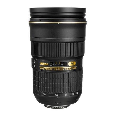 Nikon AF-S FX NIKKOR 24-70mm f/2.8G ED Zoom Lens with Auto Focus for Nikon DSLR...