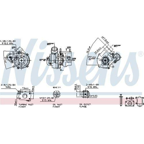 Nisss 93158 Turbo Charger: