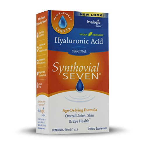 Hyalogic Synthovial Seven Hyaluronic Acid Liquid - HA Joint Support - Vegan - 1 oz by Hyalogic (Image #4)