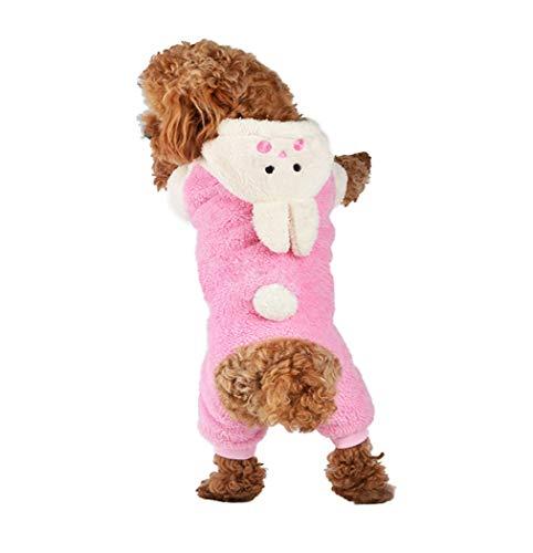 Cute Halloween Dog Pics (Adorable Bunny Halloween Dog Costumes Dog Hoodie Jumpsuit Dog Coat Pet Dog Clothes)