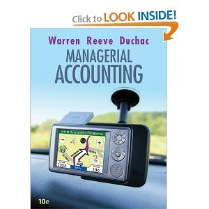 Download Managerial Accounting 10th (Tenth) Edition byReeve PDF