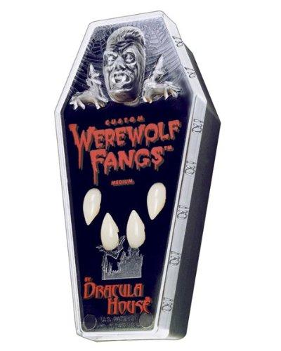 [Werewolf Fangs Costume Accessory] (Werewolf Accessories)