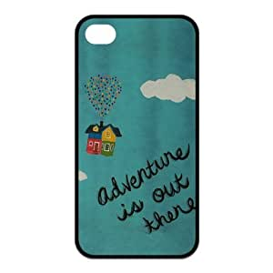 ebaykey Custombox Adventure Is Out There Best Durable Silicone Case Cover for iPhone 4 4S