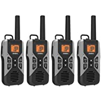 Uniden GMR3050-2C 2-Way Radio with USB Charge Cable - 30 Mile GMRS / FRS Radio with USB Charger - 4-Pack
